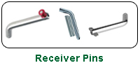 Receiver Pins (non-locking)